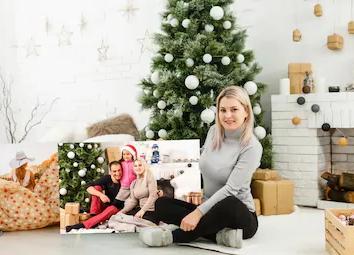 Foto Adventskalender sind eine schöne Idee die Geschenkbox individueller
